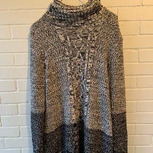 Cable Knit Banana Republic Tunic Sweater
